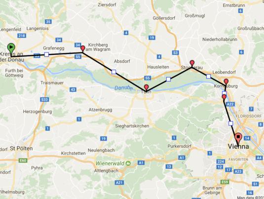 Trasa poza Wiedeń 1 BARTHUR