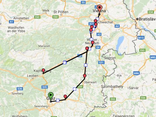 Trasa poza Wiedeń 3