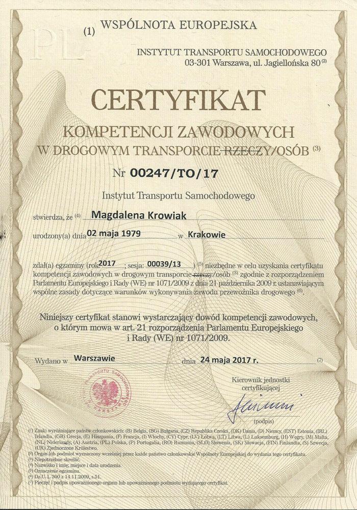 Certyfikat-kompetencji-zawodowych-w-drogowym-transporcie-osób