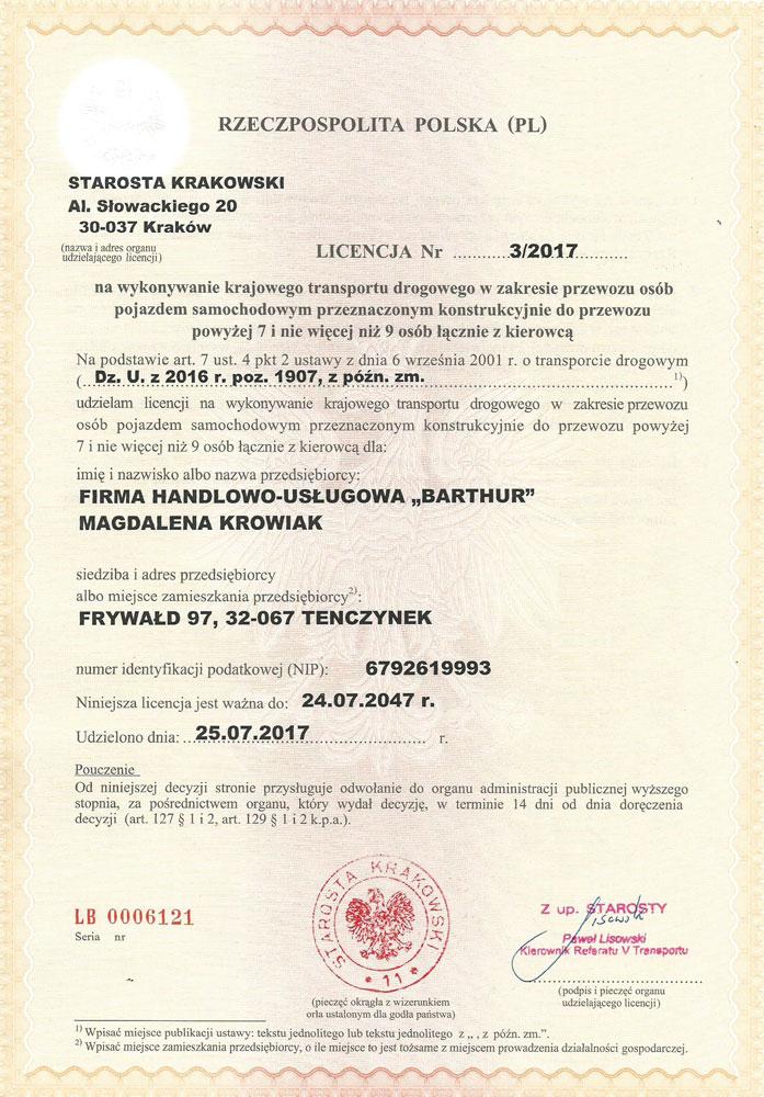Licencja-na-wykonywanie-krajowego-transportu-drogowego-osób